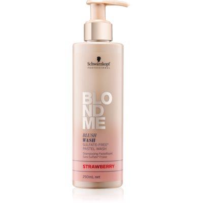 Schwarzkopf Professional Blondme sulfatfreies Shampoo für blonde Haare
