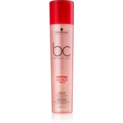 Schwarzkopf Professional BC Bonacure Repair Rescue Micellar Shampoo For Damaged Hair