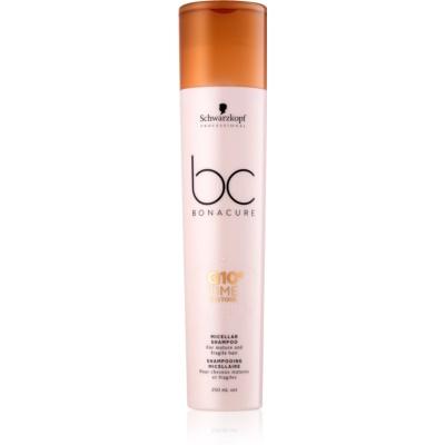 Schwarzkopf Professional BC Bonacure Time Restore Q10 szampon micelarny do włosów dojrzałych i łamliwych