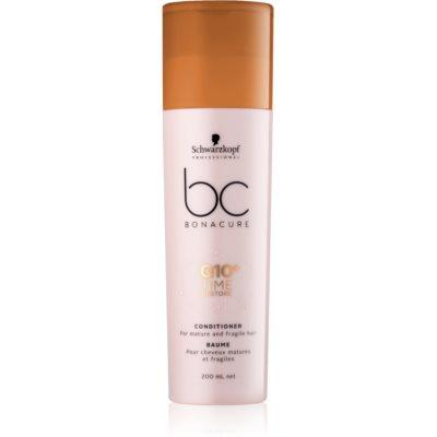 Schwarzkopf Professional BC Bonacure Time Restore Q10 après-shampoing pour cheveux matures et fragiles