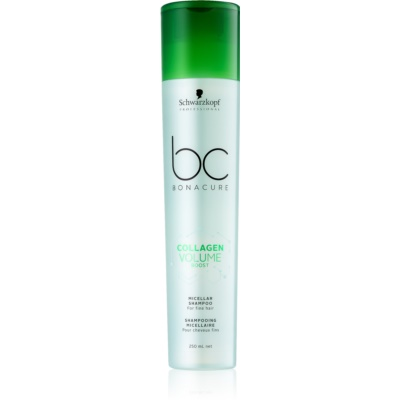 Schwarzkopf Professional BC Bonacure Volume Boost Micellar Shampoo For Hair Without Volume