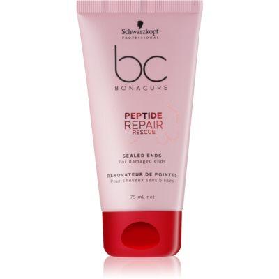Schwarzkopf Professional BC Bonacure Peptide Repair Rescue bálsamo para pontas de cabelo