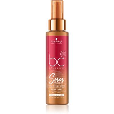 Schwarzkopf Professional BC Bonacure Sun Protect balzam brez spiranja za lase izpostavljene soncu, morski in klorirani vodi