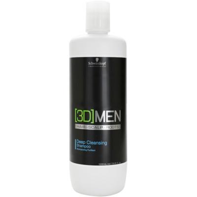 Schwarzkopf Professional [3D] MEN дълбоко почистващ шампоан