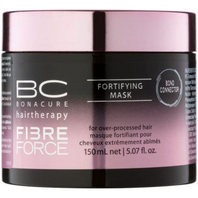 Schwarzkopf Professional BC Bonacure Fibreforce подсилваща маска за силно увредена коса