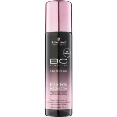 erősítő öblítést nem igénylő ápolás a károsult hajra