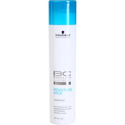 Schwarzkopf Professional BC Bonacure Moisture Kick hydratačný šampón pre normálne až suché vlasy