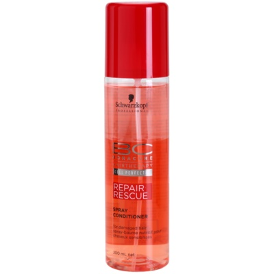 Schwarzkopf Professional BC Bonacure Repair Rescue Herstellende Conditioner in Spray  voor Beschadigd Haar