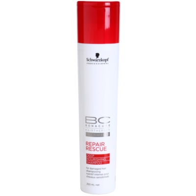 Schwarzkopf Professional BC Bonacure Repair Rescue Regenerating Shampoo For Damaged Hair