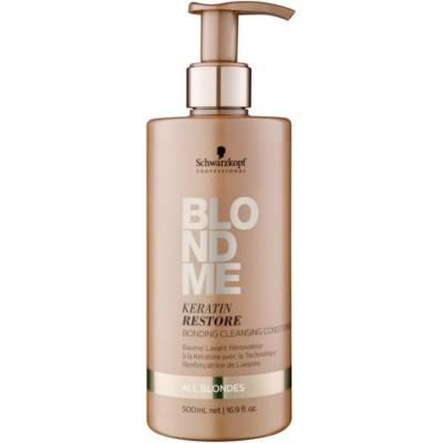 odżywka oczyszczająca do wszystkich typów włosów  blond