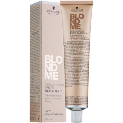 crema aclaradora para cubrir el cabello blanco