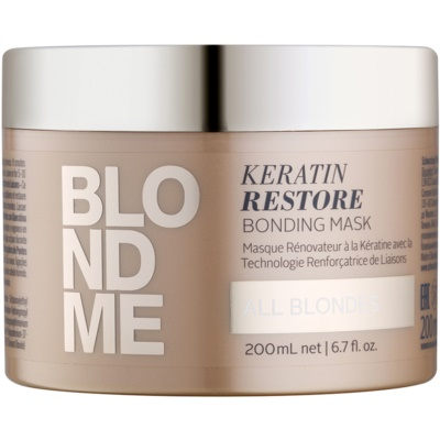 masque rénovateur pour toutes les nuances de blond