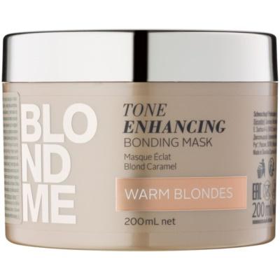 vyživující maska pro teplé odstíny blond