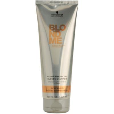 szampon wzmacniający do ciepłych odcieni blond
