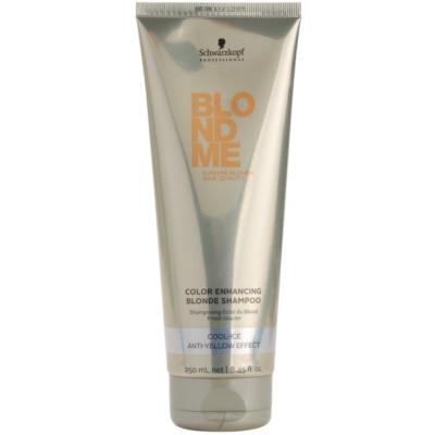 posilující šampon pro studené odstíny blond