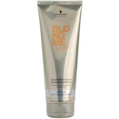 szampon wzmacniający do zimnych odcieni blond