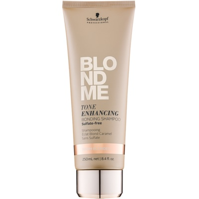 bezsulfátový šampon pro teplé odstíny blond