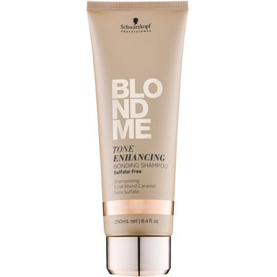 безсульфатний шампунь для теплих відтінків блонд