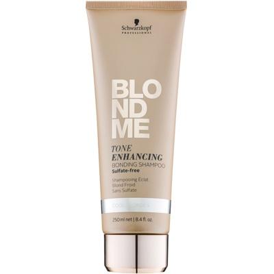 shampoing sans sulfates pour nuances de blond froides