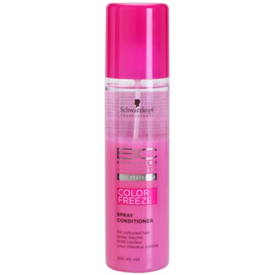 Schwarzkopf Professional BC Bonacure Color Freeze kondicionáló spray a szín védelméért