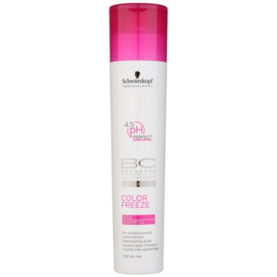 Schwarzkopf Professional BC Bonacure Color Freeze Rich Shampoo For Overprocessed Coloured Hair