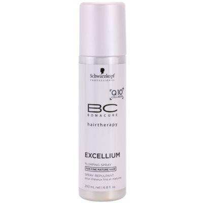 condicionador em spray sem enxague para cabelos finos e  maduros