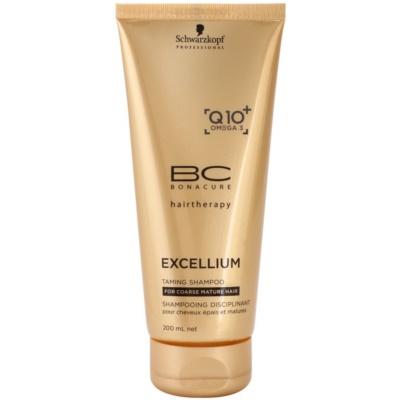 šampon pro hrubé zralé vlasy
