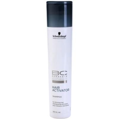 champú activador para la pérdida de densidad del cabello