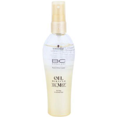 olejová mlha pro jemné až normální vlasy