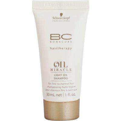 lekki olejkowy szampon do wszystkich rodzajów włosów
