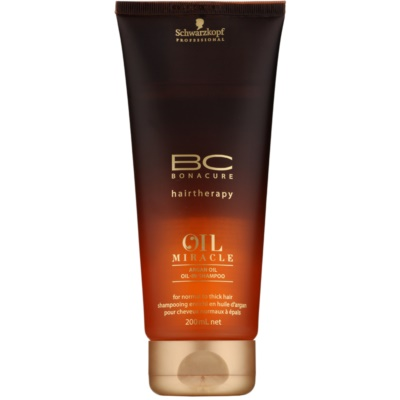 Schwarzkopf Professional BC Bonacure Oil Miracle Argan Oil sampon pentru par normal spre gras