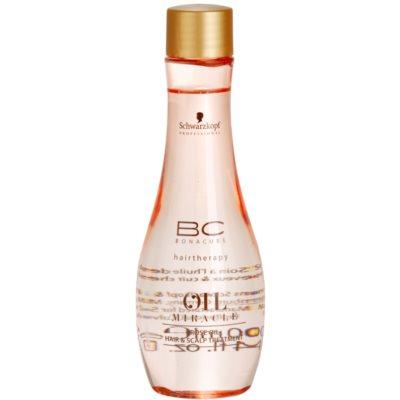 Schwarzkopf Professional BC Bonacure Oil Miracle Rose Oil olajos szérum a károsult hajra és fejbőrre