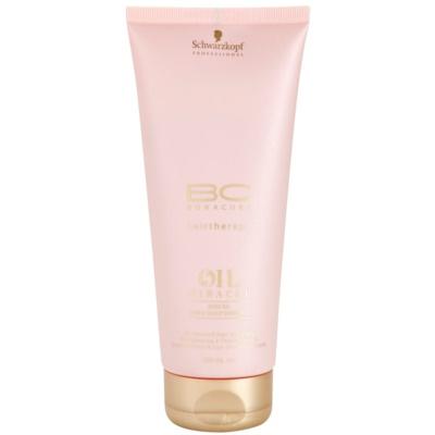 olejový šampon pro namáhané vlasy a vlasovou pokožku