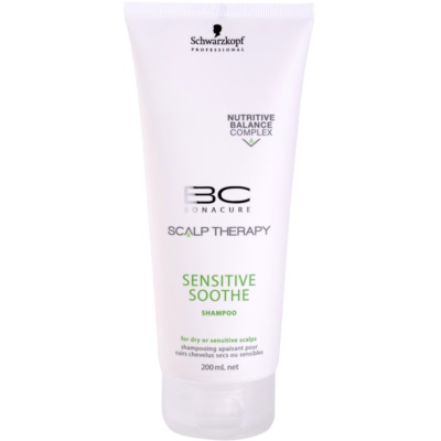 šampon pro suchou a citlivou pokožku hlavy