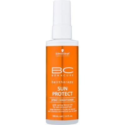 Schwarzkopf Professional BC Bonacure Sun Protect балсам под формата на спрей за изтощена от слънце коса