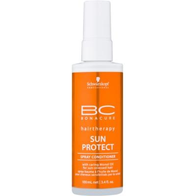 odżywka w sprayu do włosów narażonych na szkodliwe działanie promieni słonecznych