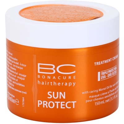 Schwarzkopf Professional BC Bonacure Sun Protect Maske mit ernährender Wirkung für von der Sonne überanstrengtes Haar