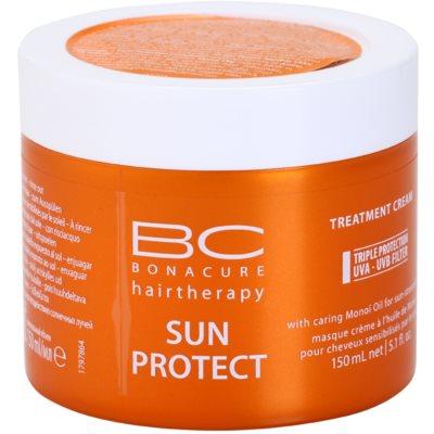 Schwarzkopf Professional BC Bonacure Sun Protect подхранваща маска  за изтощена от слънце коса