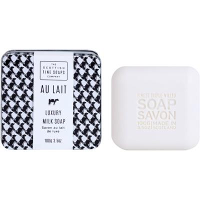 luxusné mydlo v plechovej dóze