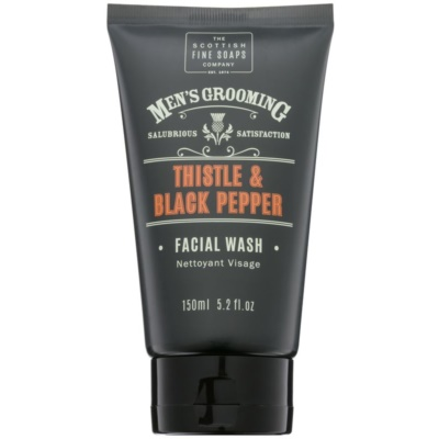 Scottish Fine Soaps Men's Grooming Thistle & Black Pepper τζελ πλυσίματος για πρόσωπο
