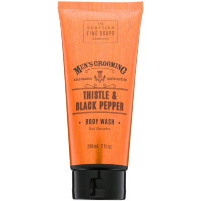 Scottish Fine Soaps Men's Grooming Thistle & Black Pepper Shower Gel