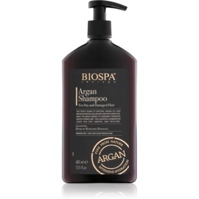arganový šampon pro suché a poškozené vlasy