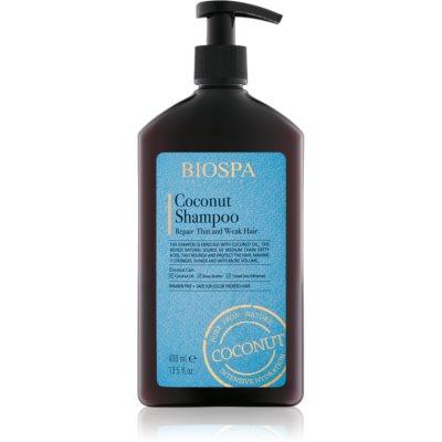 obnovitveni šampon s kokosom