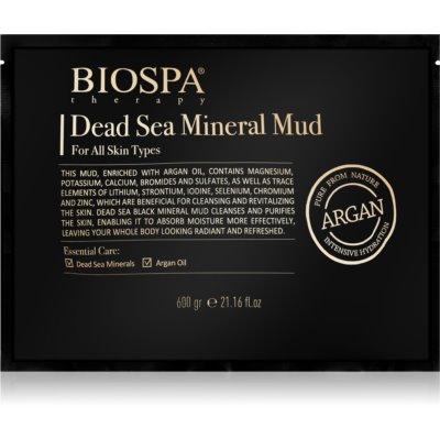 blato z minerali iz Mrtvega morja in arganovim oljem