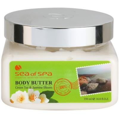 tělové máslo s minerály z Mrtvého moře