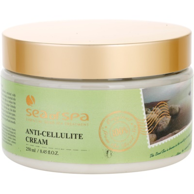 creme anticelulite  com minerais do Mar Morto