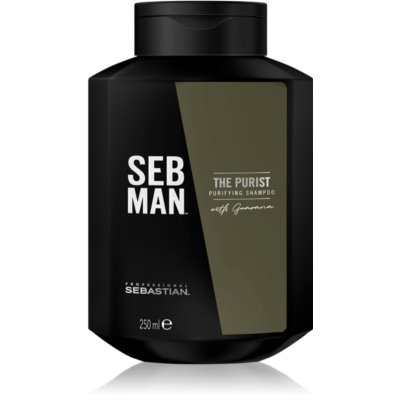 Sebastian Professional SEBMAN The Purist καθαριστικό σαμπουάν
