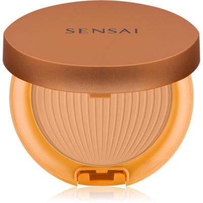 Sensai Silky Bronze polvos solares protectores resistentes al agua SPF 30
