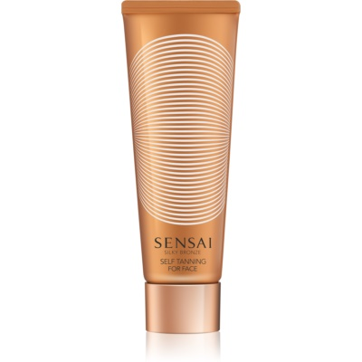 Sensai Silky Bronze Self-Tanning Gel Cream for Face