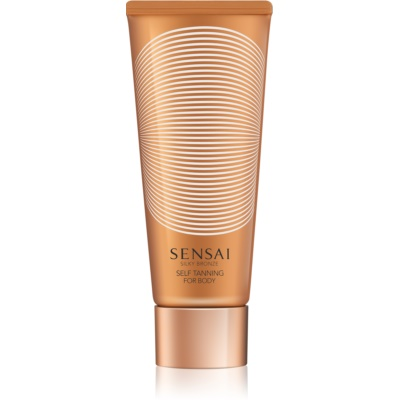 Sensai Silky Bronze Self Tan Gel For Body